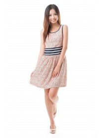 Chic Casual Clover Prints Dress