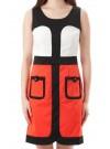 Vionnet Modern Color Block Dress