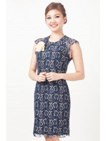 Elegance Liz Floral Lace Dress