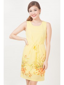 Chelsea Yellow Floral Sundress
