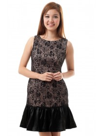 Martina Floral Crocheted Dress