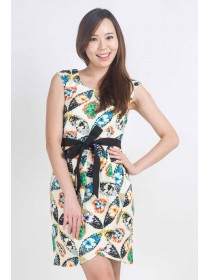 Summer Florals Tulip Dress