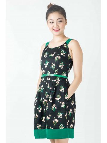 http://www.divalavie.com/330-2287-thickbox/florals-textured-crepe-flare-dress.jpg
