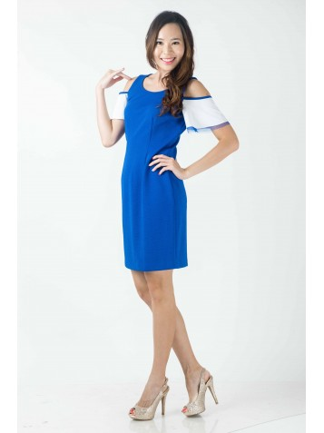 http://www.divalavie.com/331-2293-thickbox/off-shoulders-ruffled-sleeves-blue-dress.jpg