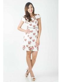 Romance Floral Prints Dress
