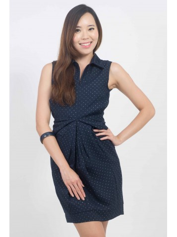 http://www.divalavie.com/340-2345-thickbox/textured-dots-ruched-collar-shift-dress.jpg