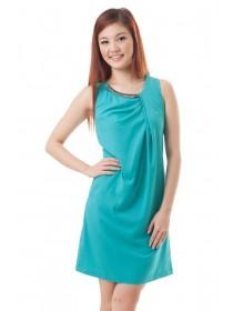 Green Embellished Dress