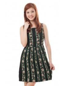 Mini Floral Prints Dress