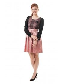 Prim and Pretty Satin Dress
