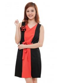Kain Drawstring Silk Blend Dress
